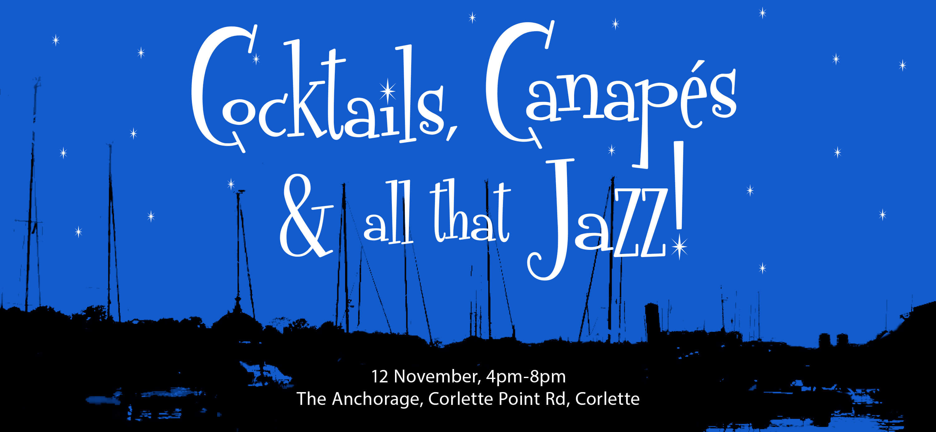 Cocktails, Canapes and all that Jazz!