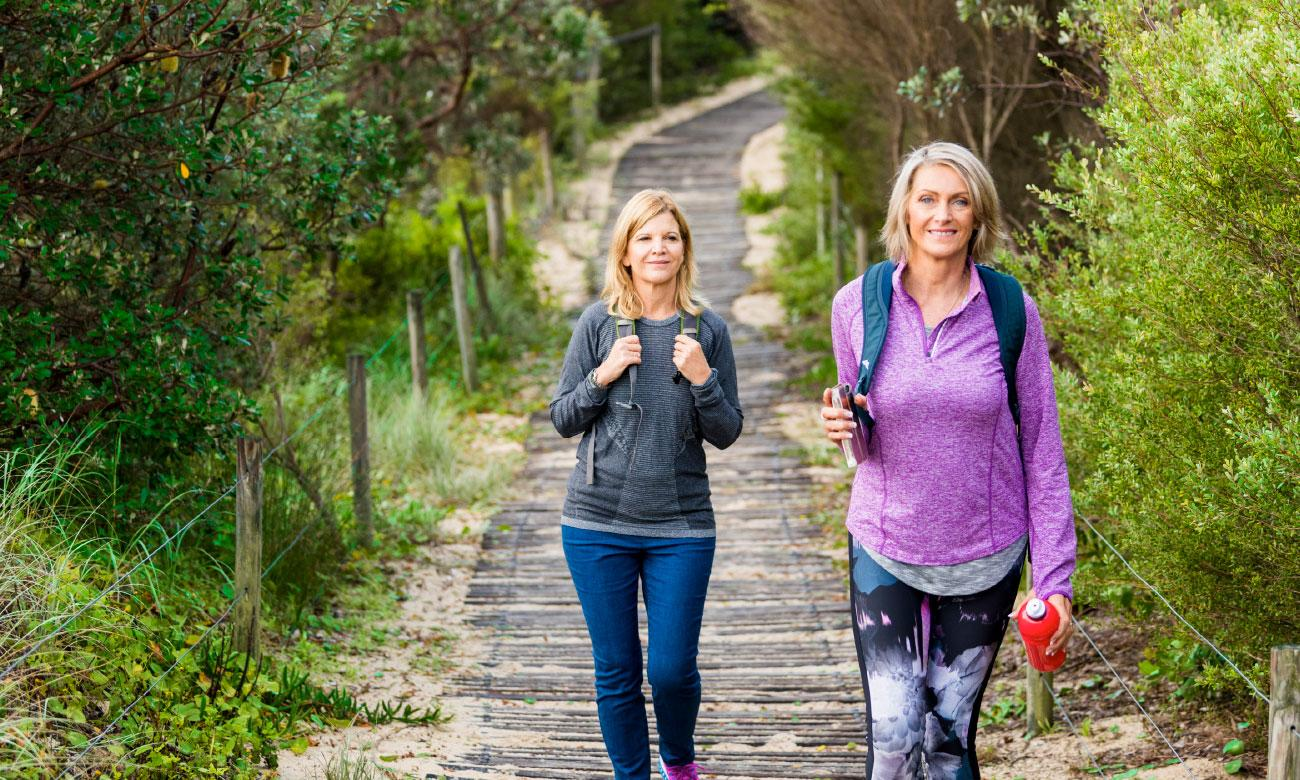 ladies walking in Port Stephens