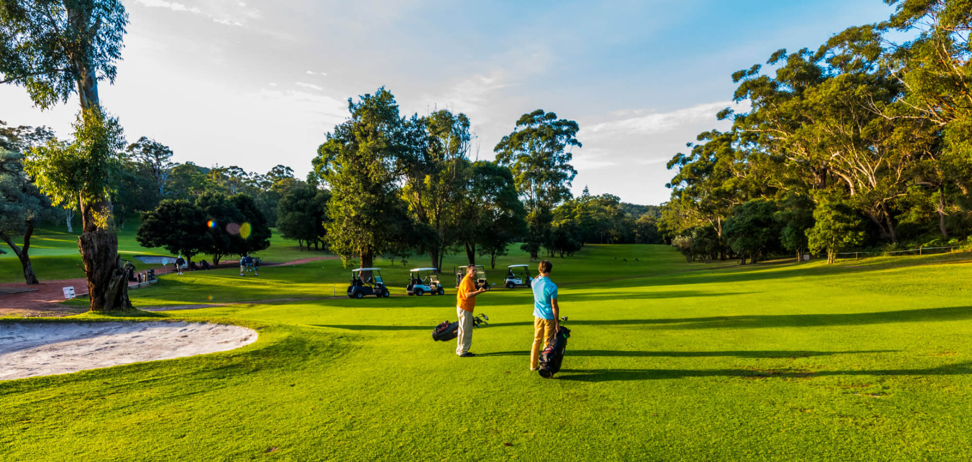 Golf in Port Stephens