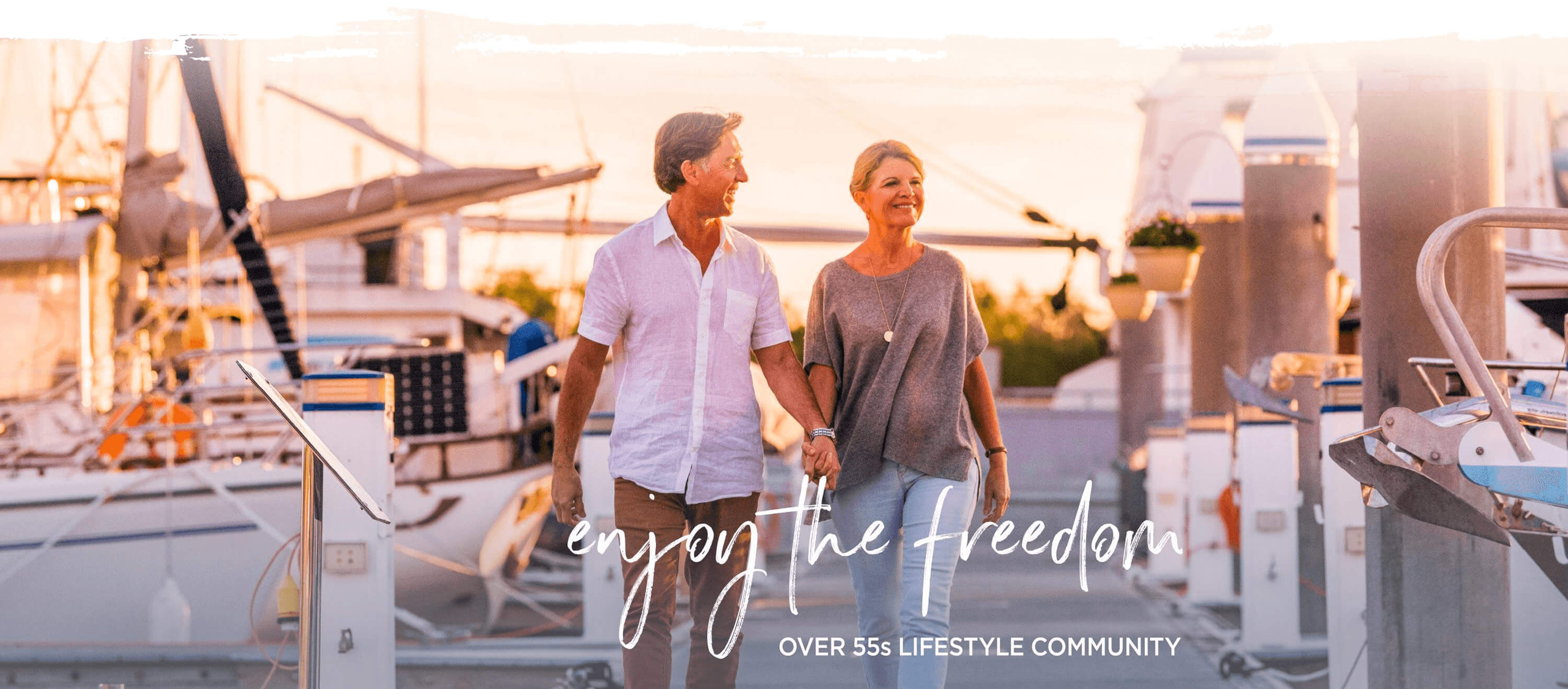enjoy the freedom over 55s lifestyle community