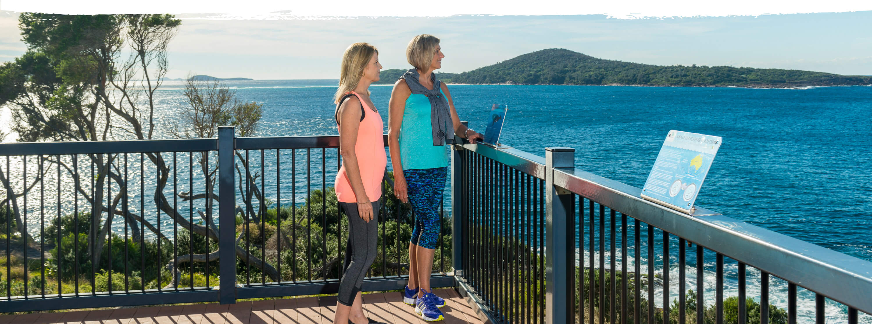 leisurely walk in Port Stephens
