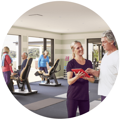exercise in Soulworks wellness centre